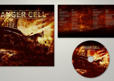 Anger Cell | Fear Formidable | CD-kuvitus