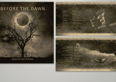 Before the Dawn | Deathstar Rising | CD-kuvitus