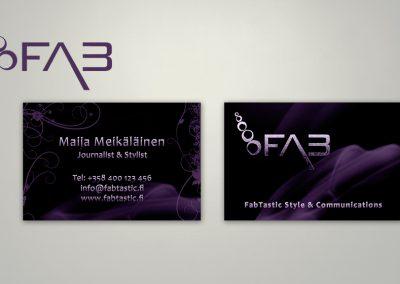 FabTastic Style & Communication | Logo ja käyntikortti