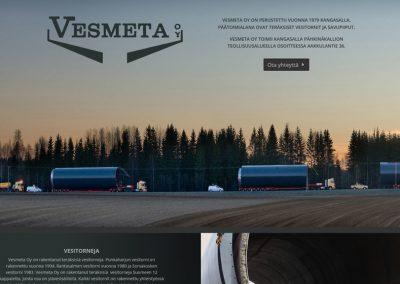 Vesmeta | Internetsivu | www.vesmeta.fi